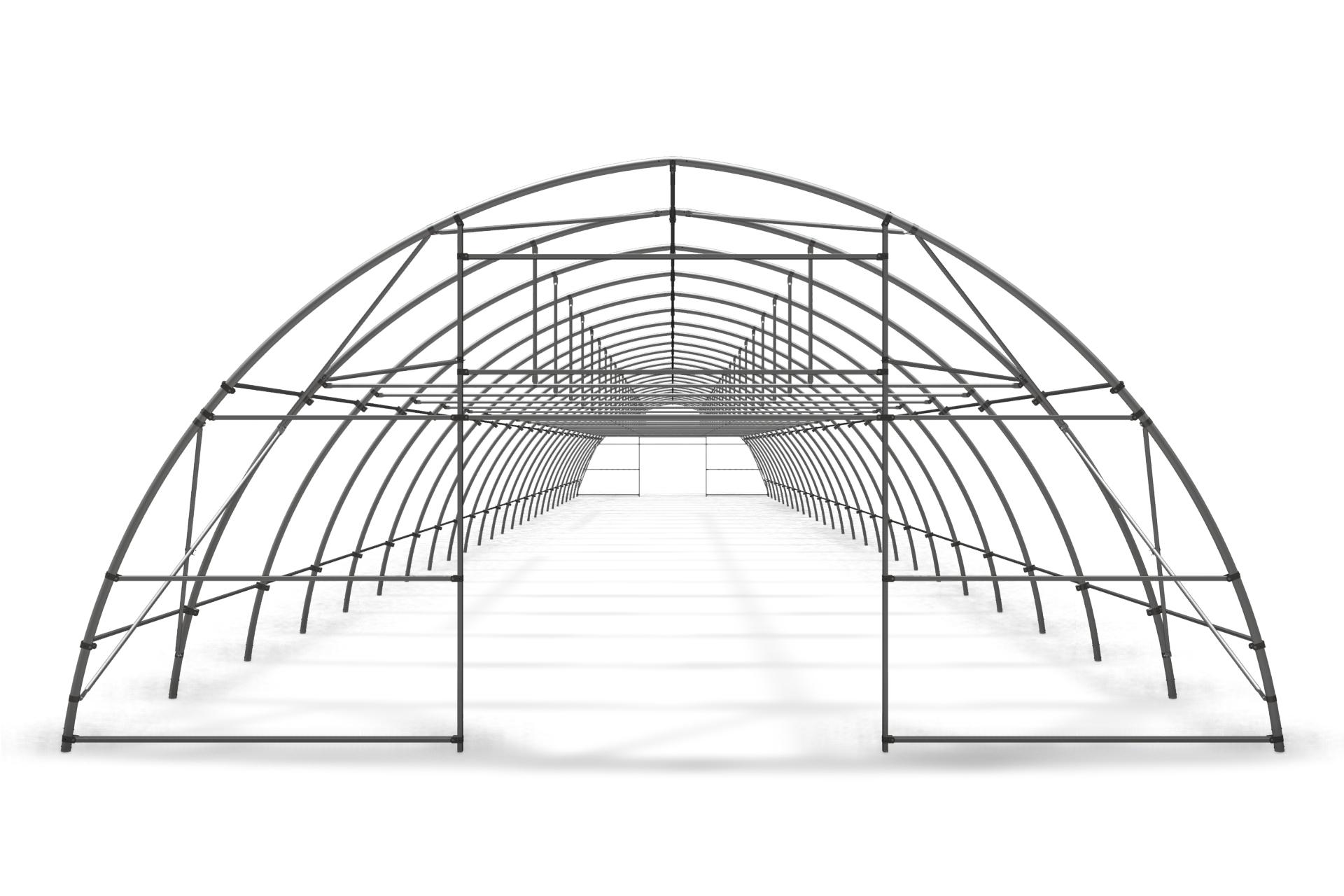 Теплица туннельная арочная 8,0х4,0 м